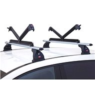 Fabbri ALUSKI Lockable Roof Carrier for 8 Pairs of Skis - Ski carrier