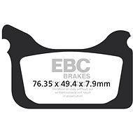 EBC Brzdové doštičky MXS405 - Brzdové doštičky