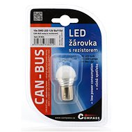 Compass Žiarovka 9 SMD LED 1 chip 12 V BAY15d 1 ks - Autožiarovka