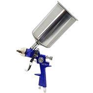 GEKO Striekacia pištoľ HVLP, kovová nádrž 1000 ml - Striekacia pištoľ