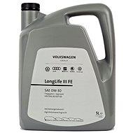 Originálny motorový olej VW 0W30 LONGLIFE III FE; 5 l - Motorový olej