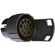 ACI Redukce ze 7 pin na 13 pin zástrčku (7 pin na autě/13 pin na přívěsu) - Redukcia zásuvky ťažného zariadenia