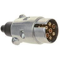 ACI Zástrčka 7 pin 12V hliník - Zástrčka