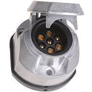 ACI Zásuvka 7 pin 12V hliník + těsnění - Zásuvka