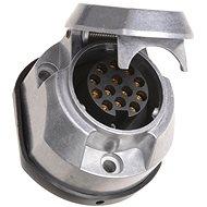 ACI Zásuvka 13 pin 12V hliník s odpoj. mlhovky + těsnění - Zásuvka