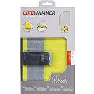 Lifehammer Products Bezpečnostná vesta 4 ks – LIFEHAMMER ULTRA - Reflexná vesta