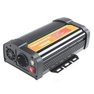 BYGD P1000U - menič napätia, 12 V na 230 V 1 000 W - Menič napätia