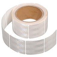 Compass Samolepiaca páska reflexná delená 5 m x 5 cm biela (rolka 5 m) - Páska