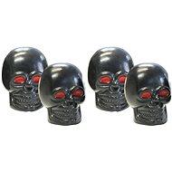 FOLIATEC Čepičky ventilků Foliatec - černé lebky s červenýma očima - Čiapočky na ventily