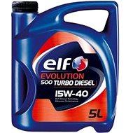 ELF EVOLUTION 500 TURBO DIESEL 15W40 5 l - Motorový olej