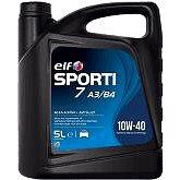 ELF SPORTI 7 10W40 5 l - Motorový olej