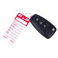 AHProfi Key Tags with Hanging Ring - Red