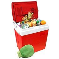 Compass Chladiaci box 30 litrov RED 220/12 V displej s teplotou - Autochladnička
