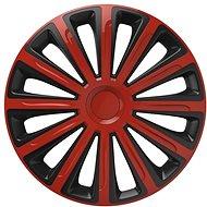 """Versaco puklice Trend red/black 15"""" sada 4 ks - Puklice na kolesá"""