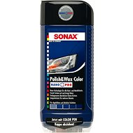 SONAX Polish & Wax COLOR modrá, 500 ml - Autokozmetika
