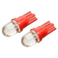 COMPASS 1 LED 12 V T10 červená 2 ks - Autožiarovka