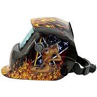 Geko Zváracia kukla samostmievacia s plameňmi - Zváracia kukla