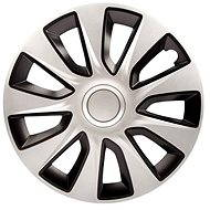 "VERSACO STRATOS DC SILVER/BLACK 14"" 4pcs - Wheel Covers"