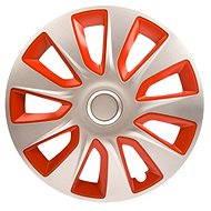 "VERSACO STRATOS SILVER RED 14"" - Puklica na auto"