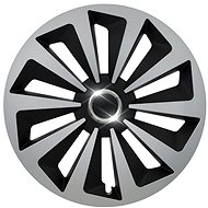 "FOX RING SILVER / BLACK 14 "" - Wheel Covers"