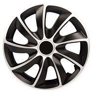 "QUAD Silver-Black 14"" - Wheel Covers"