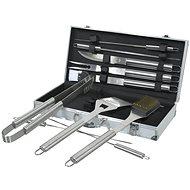 COMPASS Grilovacie náradie súprava 11 ks ALU kufrík - Grilovacia súprava
