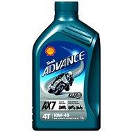 SHELL Advance 4T AX7 10W-40 (SL/MA2) 1 l - Motorový olej