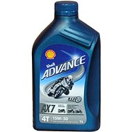 SHELL ADVANCE 4T AX7 15 W-50 1 l (SL/MA2)