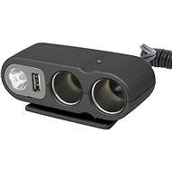 CARPOINT 12 V – s USB výstupom/káblom - Autoadaptér