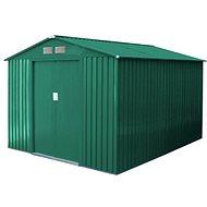 G21 GAH 429 – 251 × 171cm, zelený - Záhradný domček