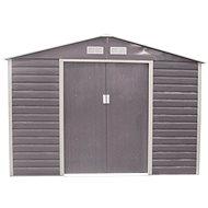 G21 GAH 706 – 277 x 255 cm, šedý - Záhradný domček
