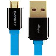 AVACOM MIC-120B micro USB 120 cm modrá - Dátový kábel