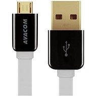AVACOM MIC-120W micro USB 120 cm biela - Dátový kábel