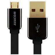 AVACOM MIC-40K micro USB 40cm čierna - Dátový kábel