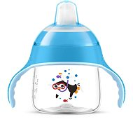 Philips AVENT netečúci hrnček Premium 200 ml, modrý - Detský hrnček