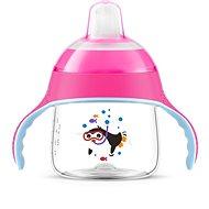 Philips AVENT netečúci hrnček Premium 200 ml, ružový - Detský hrnček