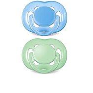 Philips AVENT cumlík SENSITIVE 6-18 mesiacov, modrý a zelený - Cumlík