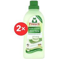FROSCH EKO aviváž Aloe Vera 2× 750 ml (62 praní)