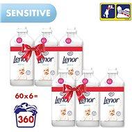 LENOR Sensitive 6 × 1.8 l (360 washes) - Fabric Softener
