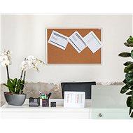 AVELI 120 × 90 cm, hliníkový rám - Nástenka