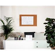 AVELI 60 × 90 cm, drevený rám - Nástenka