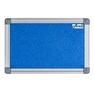 AVELI 45 × 60 cm modrá, hliníkový rám - Nástenka