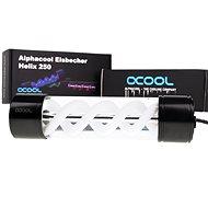 Alphacool Eisbecher Helix 250 mm, nádrž – biela