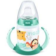 NUK fľaša na učenie Macko Puf, 150 ml - zelená - Detská fľaša