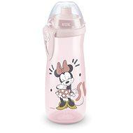 NUK fľaša Sports Cup, 450 ml - Mickey, biela - Detská fľaša