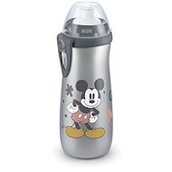 NUK fľaša Sports Cup, 450 ml – Mickey, sivá - Detská fľaša na pitie