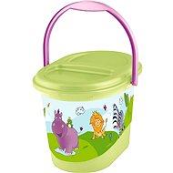 OKT Kôš na plienky HIPPO – zelený - Kôš na plienky