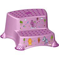 OKT Dvojstupienok HIPPO – fialový - Stupienok