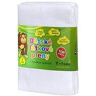 T-tomi Plienky látkové 5ks - biele - Detské plienky