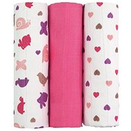 T-tomi Fabric TETRA diapers pink snails - Cloth Nappies